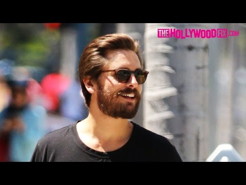 Scott Disick Goes Shopping On Rodeo Drive In Beverly Hills 6.2.15 - TheHollywoodFix.com