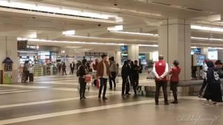 03/08/17 BTS & Park Bogum Arrival at Singapore Terminal 2
