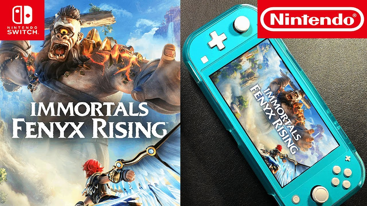 Immortals Fenyx Rising | Nintendo Switch Lite | Unboxing and Gameplay
