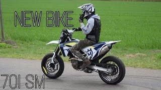 HUSQVARNA 701 SM - New Bike // Show of // BIKEPOORN
