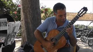 Mariano Miranda playing in Palma de Mallorca