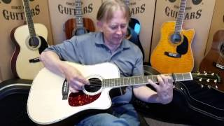 Zager ZAD900CE Acoustic Electric Guitar walkaround