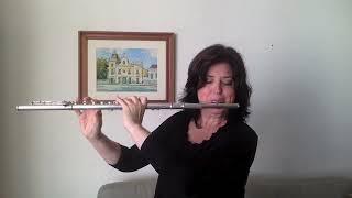 Claudia Rivera - Una noche en Alvear (Sarah Hornsby, flute)
