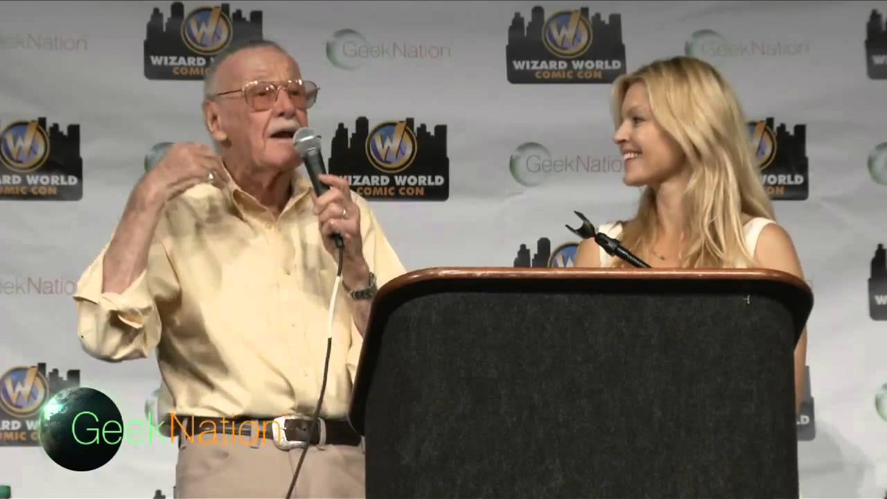 Stan Lee Panel at Wizard World Philly Comic Con