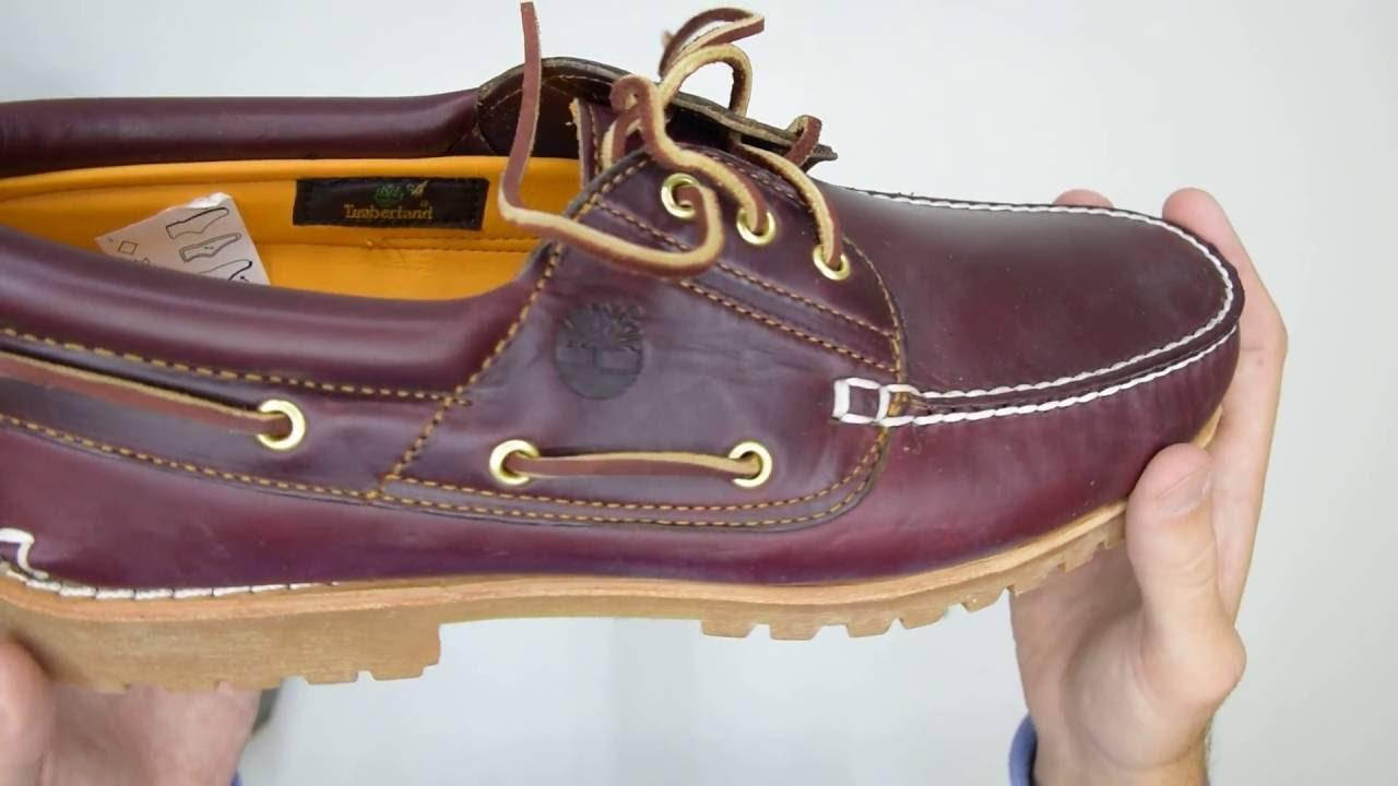 Timberland Authentics 3 Eye Classic Lug Burgundy Walktall | Unboxing | Hands on