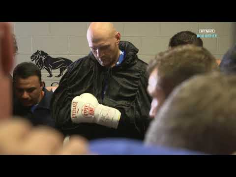 The Prayer That Tyson Fury Reads To His Team Before Every Fight