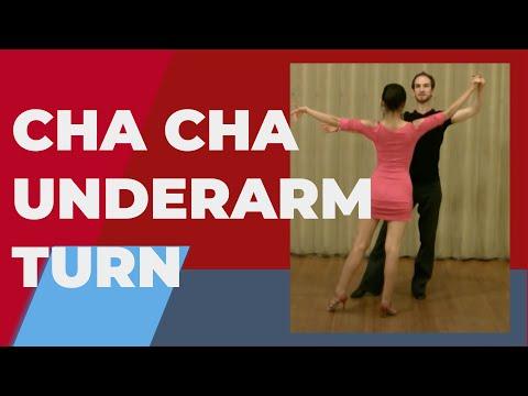 Cha Cha Underarm Turn - Cha Cha Dance Steps