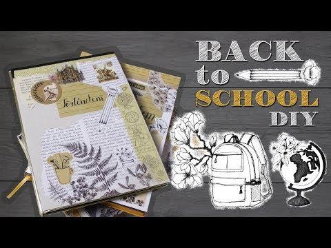 Back to School [MAGYAR] | Vissza a suliba 2018 | Füzetborító ötletek