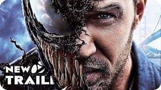 Venom All Trailers (2018) Tom Hardy Spider-Man Spinoff Movie