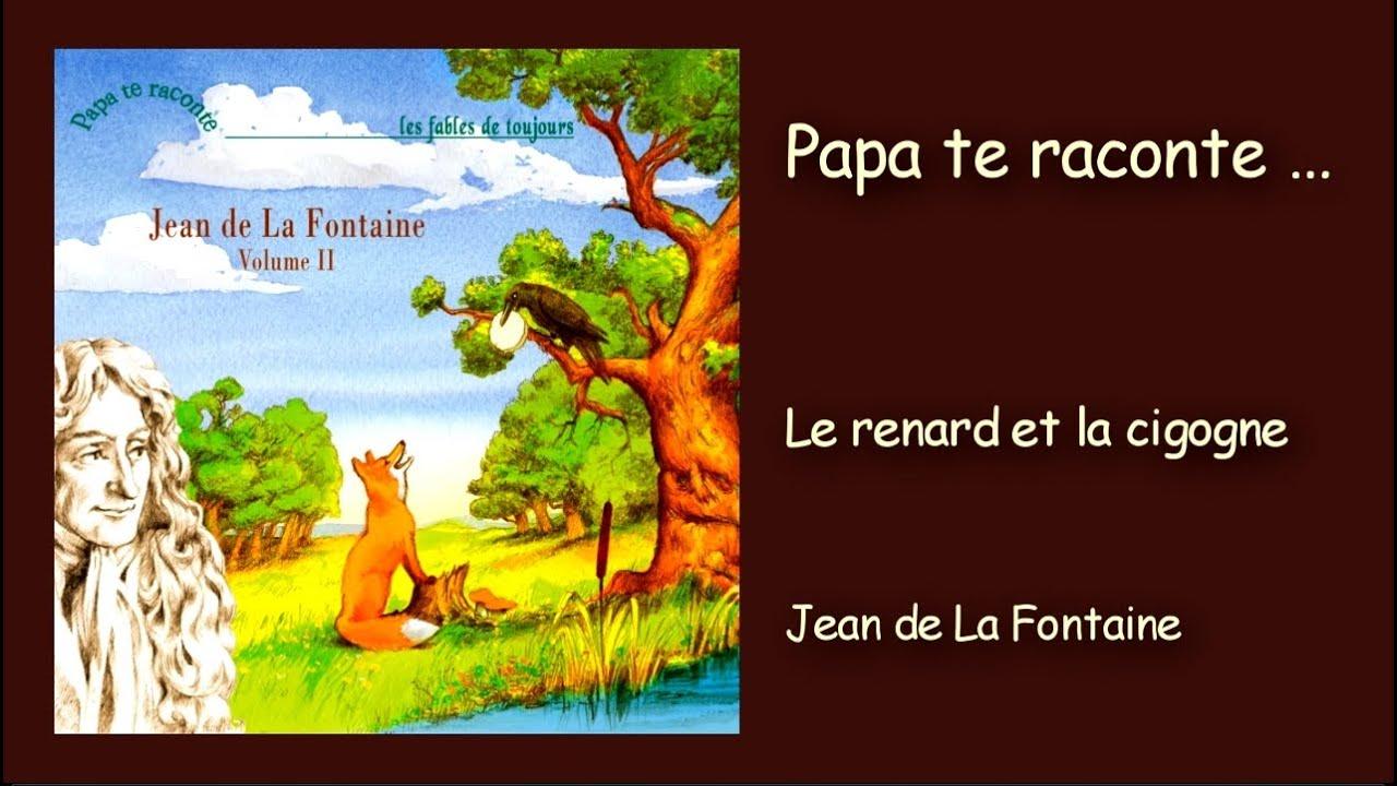 Jean de la fontaine le renard et la cigogne youtube - Dessin le renard et la cigogne ...