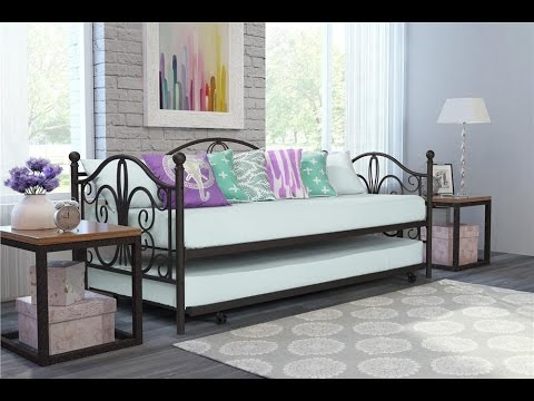 Dhp Bombay Metal Twin Size Daybed Amp Twin Size Trundle
