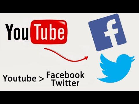 Como vincular mi cuenta de Youtube con Facebook y Twitter ...