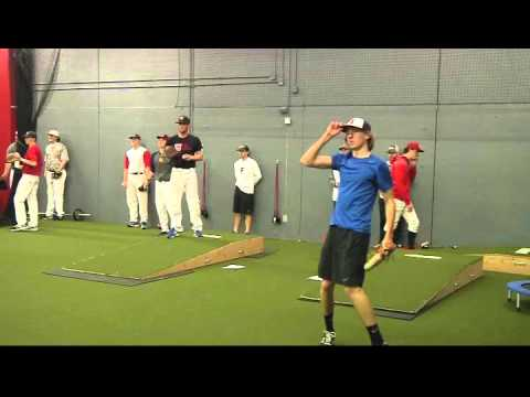 Premier Baseball's College Showcase - Pitching (side)