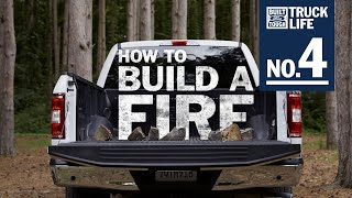 homepage tile video photo for Truck Life: How to Build a Fire | F-150 | Ford
