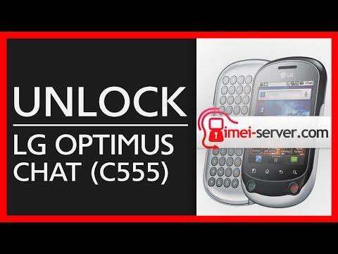 Unlock LG C555 [ remote unlock by IMEI ]