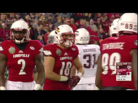 2015 Music City Bowl - Texas A&M vs. Louisville (HD)