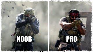 10 LVL vs 100 LVL!!! NOOB vs PRO В CALL OF DUTY MODERN WARFARE!!!