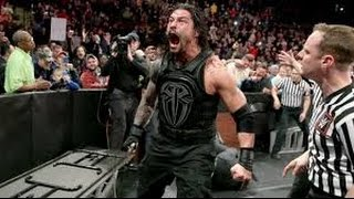 Best Moment: Roman Riegns destroy the league of nation in slamy award 2015