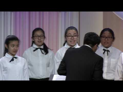 Immaculate Heart of Mary School Choir Performs at the 2017 Cardinal