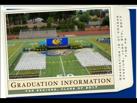 Canby High School Graduation 2017