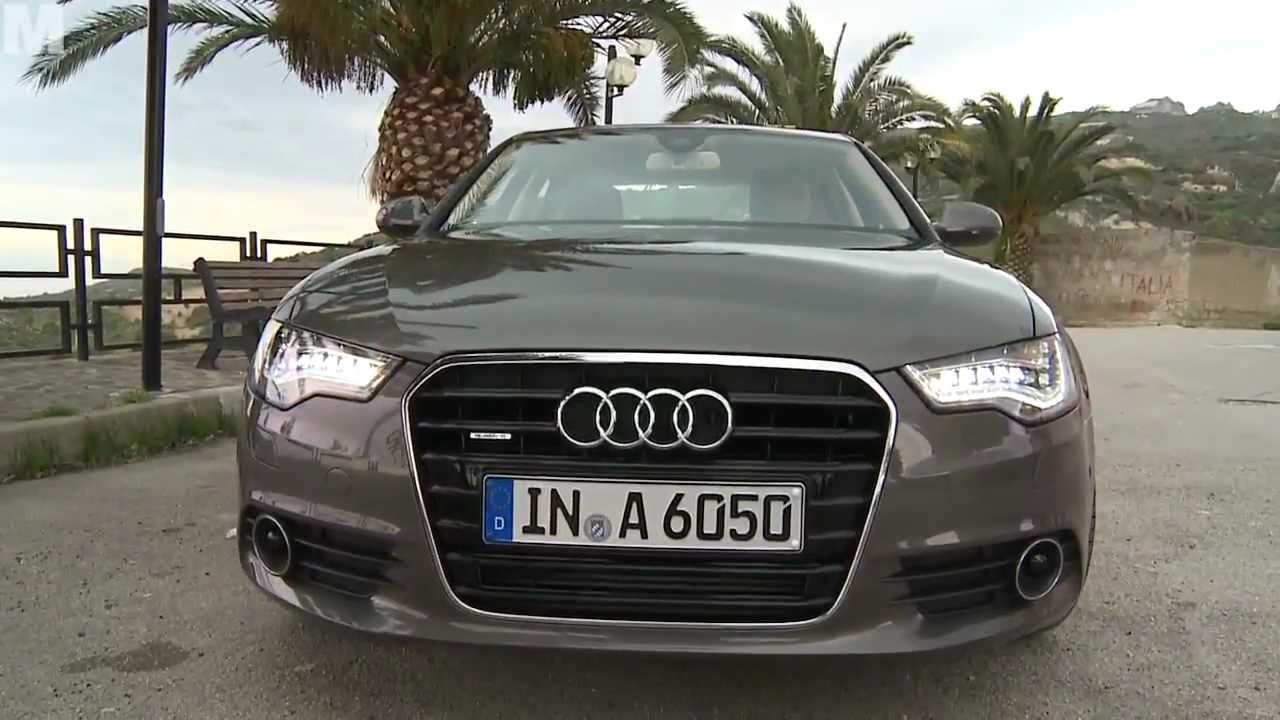Test: neuer Audi A6 3.0 TDI quattro 2011 - YouTube on