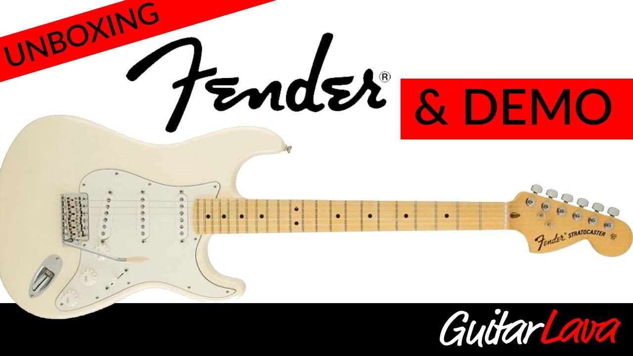 Fender American Special Stratocaster Unboxing and Demo
