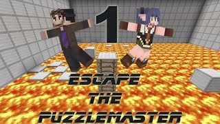 Minecraft: Poet and Haru Escape The Puzzlemaster - Part 1/3