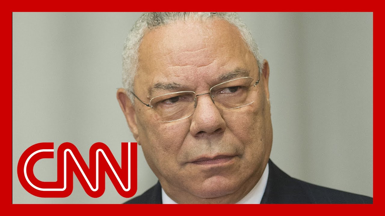 Colin Powell explains why Trump shouldn't be re-elected