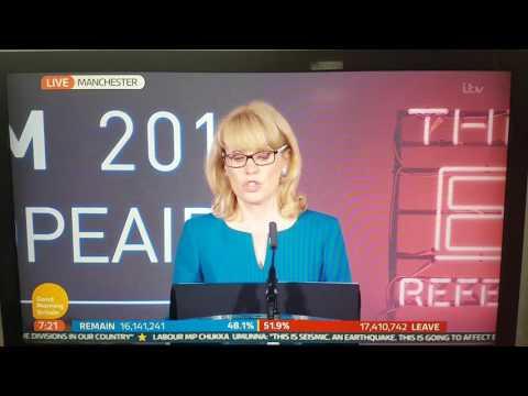UK EU Referendum 2016 OFFICIAL RESULTS
