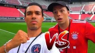 FC BAYERN vs PSG CHALLENGE LIVE IM STADION | BROTATOS
