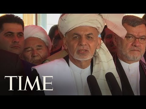 Afghanistan's President Ashraf Ghani Praises Taliban Ceasefire In Eid Holiday Address | TIME