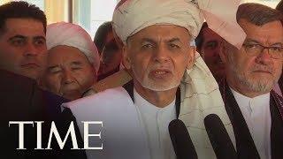 Afghanistan's President Ashraf Ghani Praises Taliban Ceasefire In Eid Holiday Address   TIME