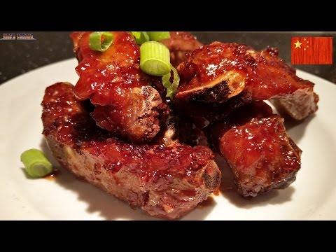 Chinese Oven Baked Spare Ribs