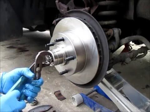1996 f150 4x4 front rotor removal