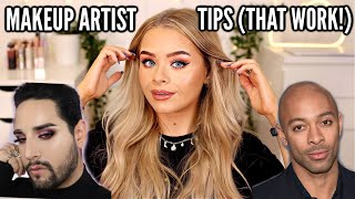 TIPS I'VE LEARNT FROM MAKEUP ARTISTS *THAT REALLY WORK*