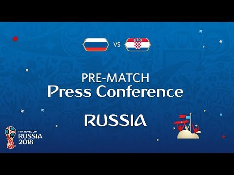 2018 FIFA World Cup Russia™ - RUS vs CRO - Russia Pre-Match Press Conference