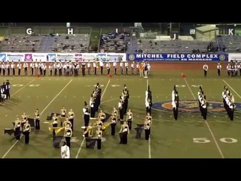 Newsday Marching Band Festival. Wantagh High School Marching Band. 10-18-16 @ Mitchell Field,
