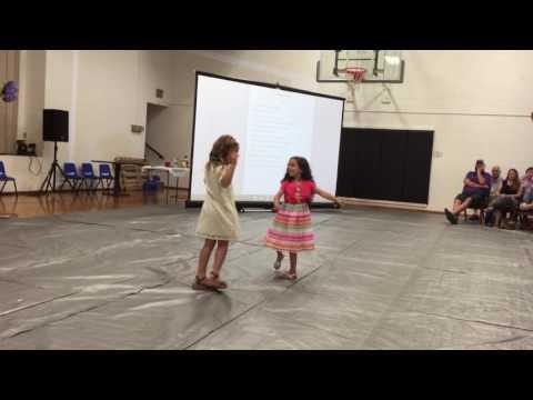 Ariya & Charisma's Dance (at the Oak Grove Christian School Talent Show)