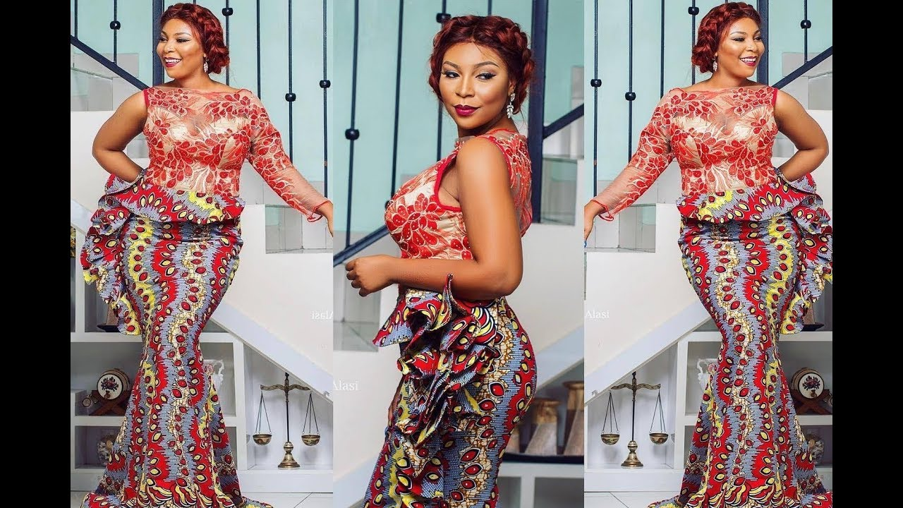 Ankara Styles 2018, Latest Modern Ankara Gown, Skirt and