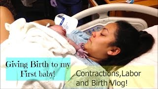 giving birth with an epidural labor and birth my first pregnancy pregnant at 21 vlog 15