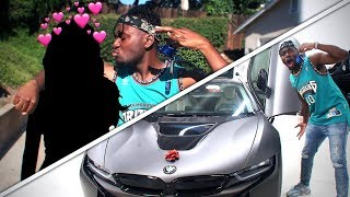 BUYING ME & Miss Thotianas Dream Car! I BOUGHT MY NEW DREAM CAR AT 21! BMW i8