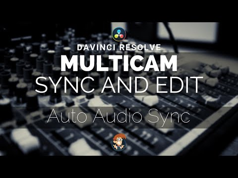 Multicam Editing with Audio Sync - DaVinci Resolve 15 - 5 Minute Friday #3