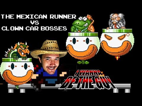 Can TMR Defeat the Clown Car? I Wanna Be the Guy Part 5