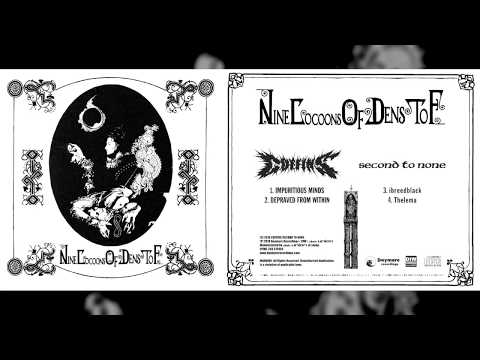 """COFFINS / SECOND TO NONE """"Nine Cocoons of Dens to F"""" [Full Split]"""