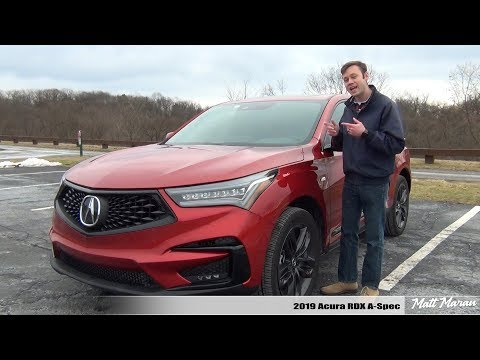 Review: 2019 Acura RDX A-Spec - I Drive It 700 Miles!
