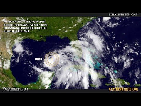 Manmade Hurricane Hermine 2016