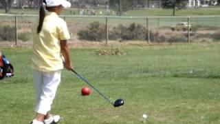 Kailie Vongsaga @ SDJGA golf tournament - May 9, 2009