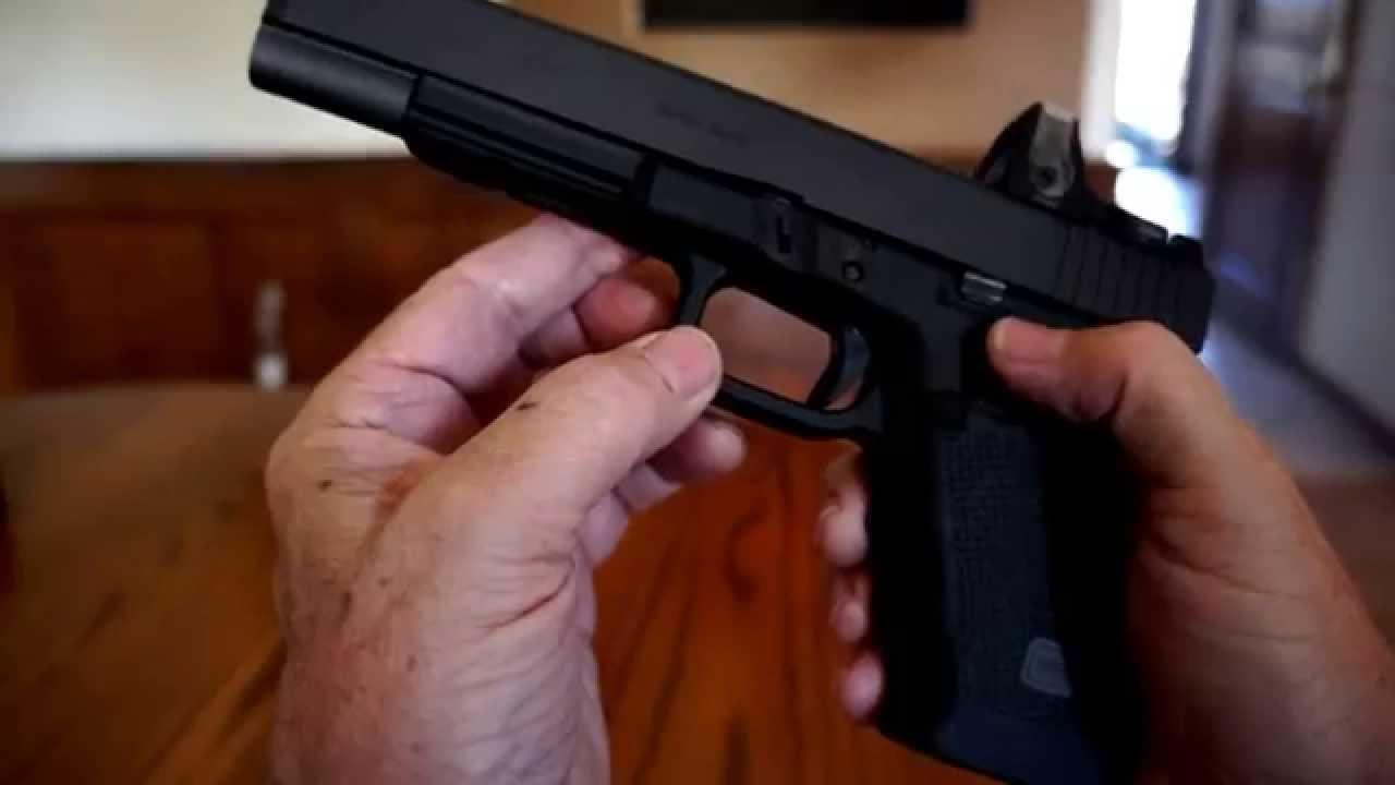 Glock G40 Mos Trijicon Sights Holster