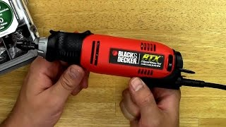 Black And Decker RTX-B Rotary Tool Unboxing & Review - DSLRnerd.com