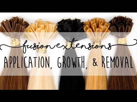 Keratin hot fusion hair extensions application 4 month growth keratin hot fusion hair extensions application 4 month growth removal instant beauty pmusecretfo Choice Image